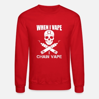 Vaping Vape on - Crewneck Sweatshirt