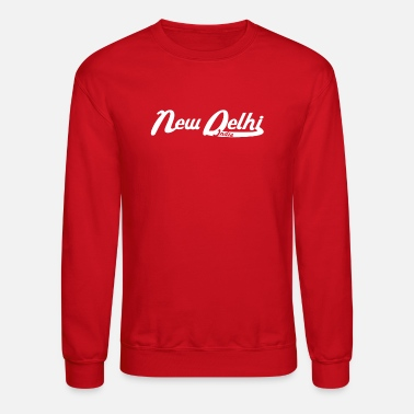 New Delhi New Delhi India Vintage Logo - Unisex Crewneck Sweatshirt