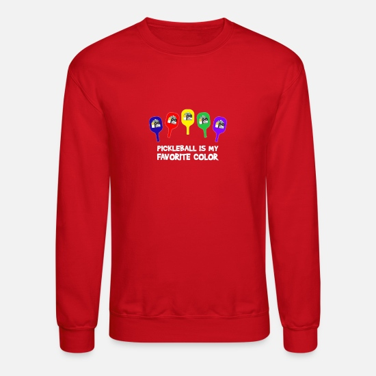 Ogden Pickleball Association Apparel Hoodies & Sweatshirts - Ogden Pickleball Association Apparel - Unisex Crewneck Sweatshirt red