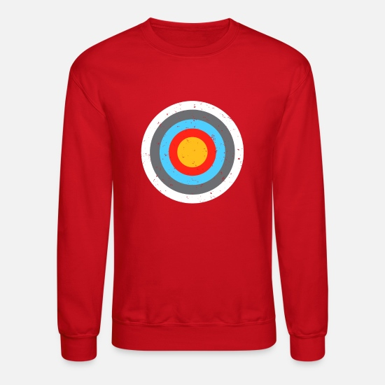Arrow Hoodies & Sweatshirts - Target - Unisex Crewneck Sweatshirt red