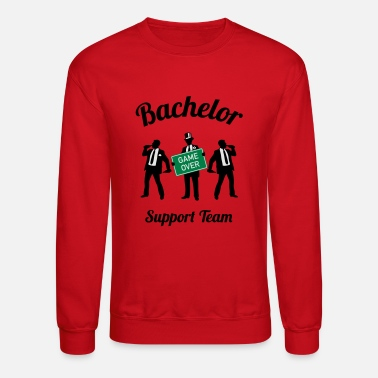 Bachelor Bachelor Game Over Support Team (Stag Party / 3C) - Unisex Crewneck Sweatshirt