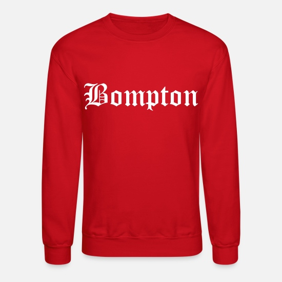 Blood Hoodies & Sweatshirts - bompton - Unisex Crewneck Sweatshirt red