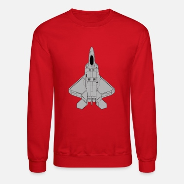 Jet Fighter Fighter jet - Crewneck Sweatshirt