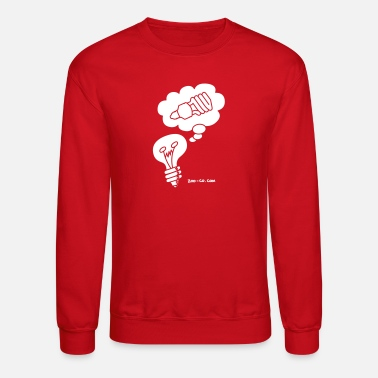 Thoughts &amp Raspberry Eco Idea Women's T-Shirts - Unisex Crewneck Sweatshirt