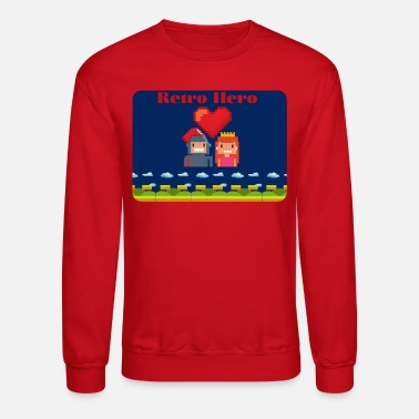 Ramseys Retro Apparel Retro Love - Unisex Crewneck Sweatshirt