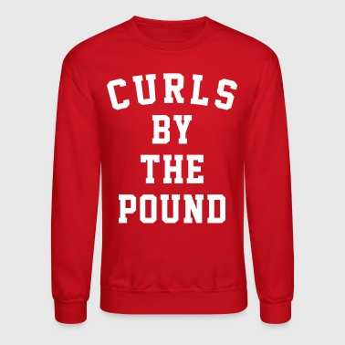 curls by the pound - Crewneck Sweatshirt