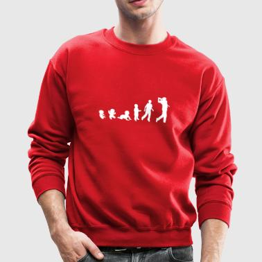 golf evolution - Crewneck Sweatshirt