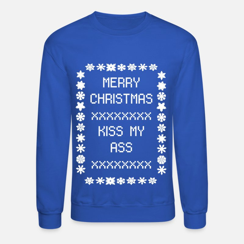 Merry Christmas Kiss My Ass by nicolemariee | Spreadshirt