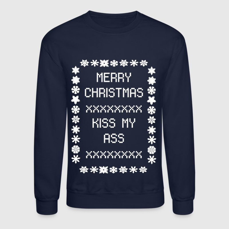 Merry Christmas Kiss My Ass by nicolemariee   Spreadshirt