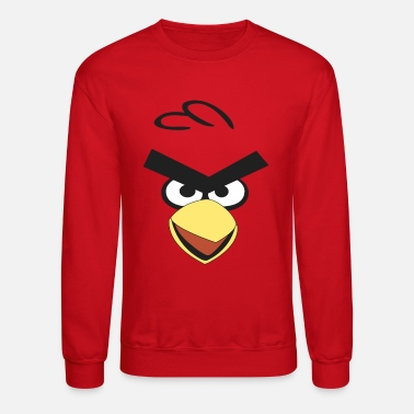 Angry red bird - Unisex Crewneck Sweatshirt