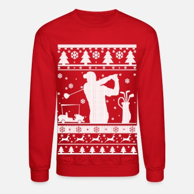 Ugly Christmas Golf Ugly Christmas - Crewneck Sweatshirt