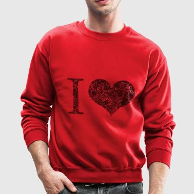I love - Crewneck Sweatshirt