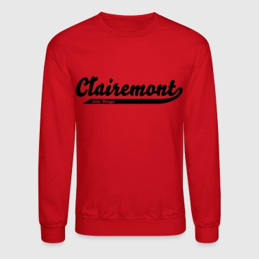 Clairemont San Diego City Neighborhood - Crewneck Sweatshirt