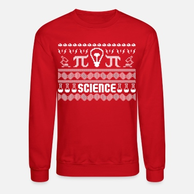Atomic Science Ugly Christmas Sweater - Crewneck Sweatshirt