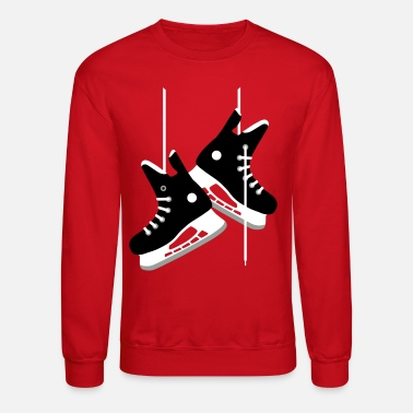 Hockey Skates Ice hockey skates - Crewneck Sweatshirt