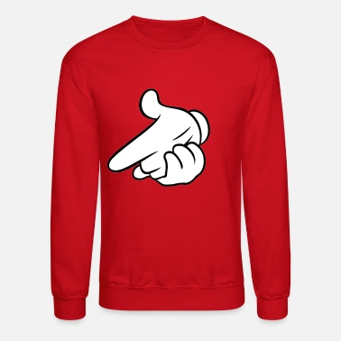 Swag Airgun Crewneck/Sweatshirt (Red) - Crewneck Sweatshirt