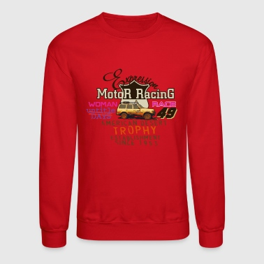 motor racing - Crewneck Sweatshirt
