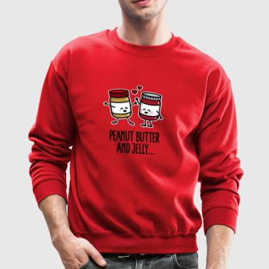 Peanut butter and jelly - Crewneck Sweatshirt