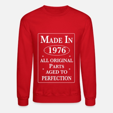 1976 made in 1976 birthday - Crewneck Sweatshirt
