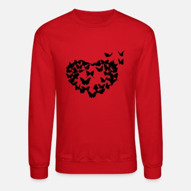Butterfly heart - Crewneck Sweatshirt