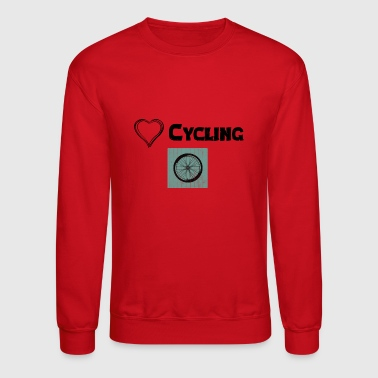 Kilometer We Love Cycling - Crewneck Sweatshirt