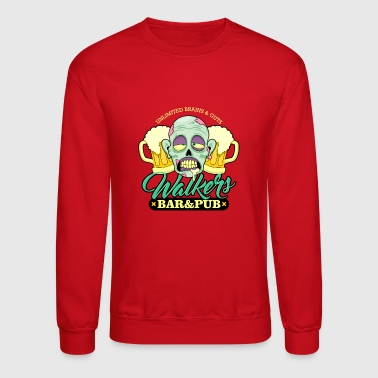 Zombie Walkers Bar and Pub - Crewneck Sweatshirt