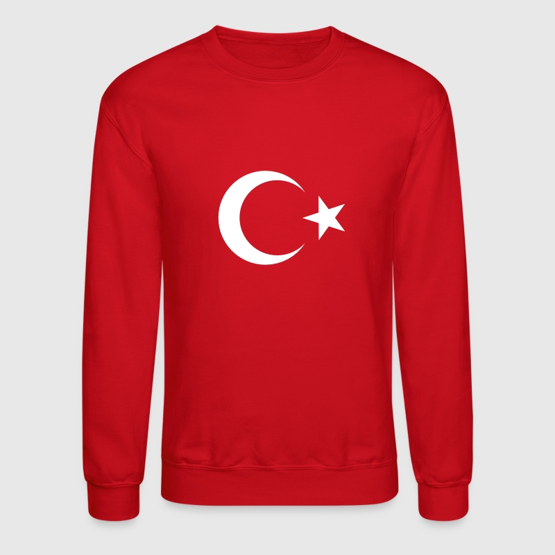 Turkish Flag - Crewneck Sweatshirt
