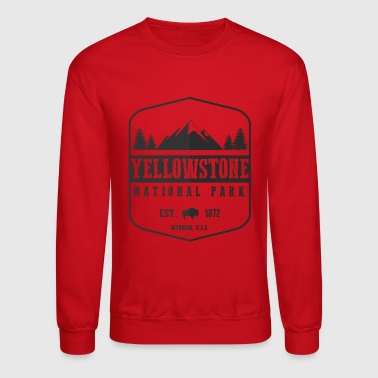 Yellowstone National Park - Crewneck Sweatshirt