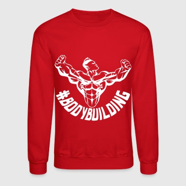 bodybuilding tag - Crewneck Sweatshirt