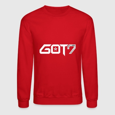 GOT7 Logo - White - Crewneck Sweatshirt