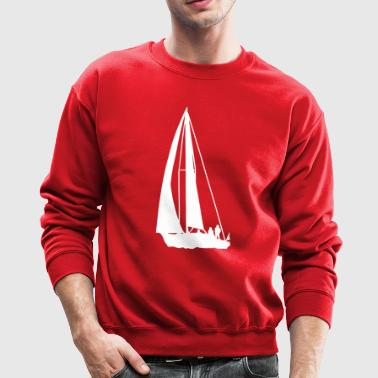 I love sailing - Crewneck Sweatshirt