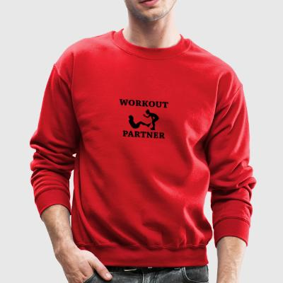 Workout partner - Crewneck Sweatshirt