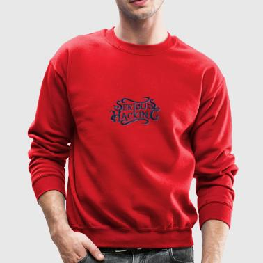 serious hacking decoration design - Crewneck Sweatshirt