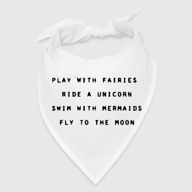 PLAY WITH FAIRIES - Bandana