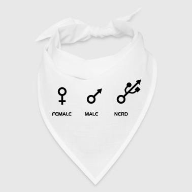FEMALE - MALE - NERD - Bandana