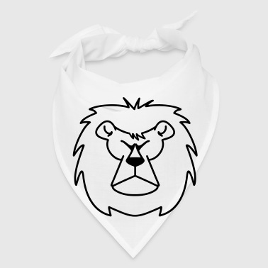 Lion's head - Bandana