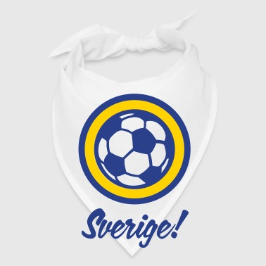 Football crest of Sweden - Bandana