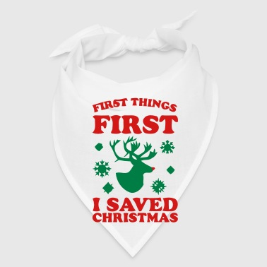 I SAVED CHRISTMAS - Bandana