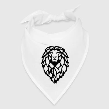 Lion Head - Bandana