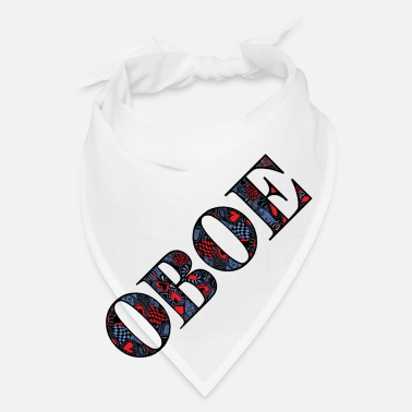Text Oboe Heart Text - Bandana