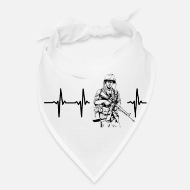 Us My heart beats for the army - Bandana