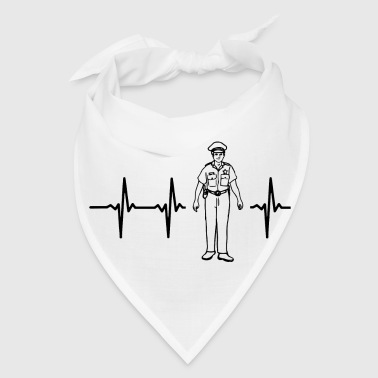 My heart beats for the police - Bandana