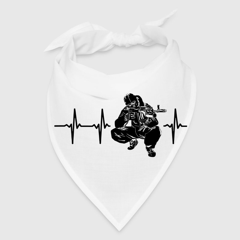 My heart beats for sniper - Bandana