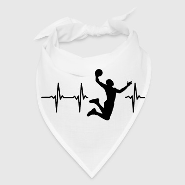 My heart beats for basketball - Bandana