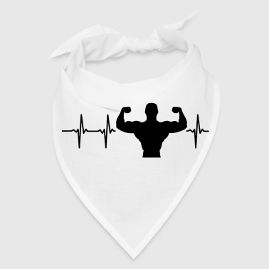 Fitness My heart beats for fitness - Bandana