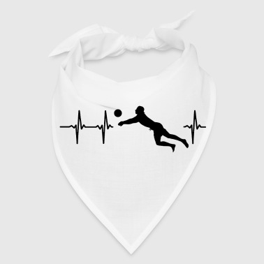 Womens Volleyball My heart beats for volleyball - Bandana