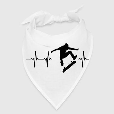 Skateboard My heart beats for skateboarding - Bandana