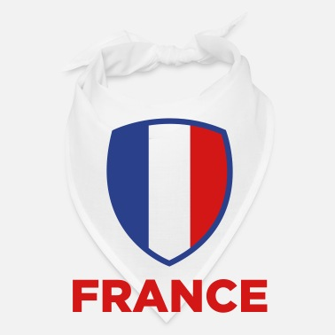 Geographic National Flag of France - Bandana