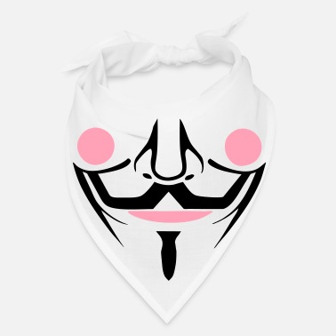 Mask guy fawkes bandanna mask - Bandana