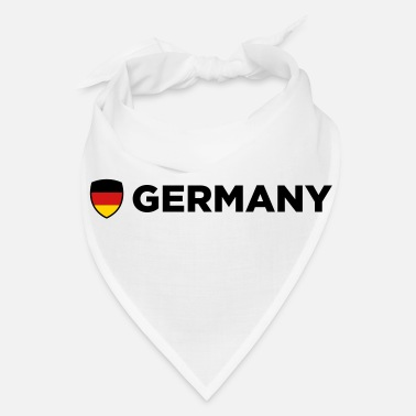 Berlin National Flag of Germany - Bandana